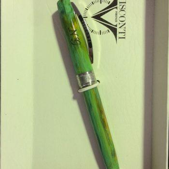 marcatura su penna su resina vegetale